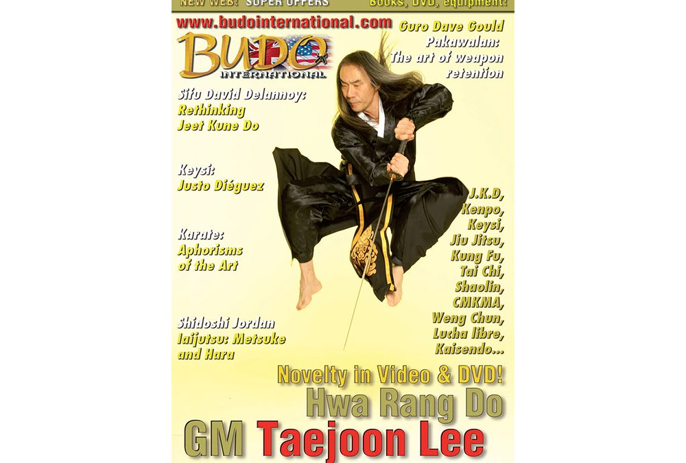 Grandmaster Taejoon Lee's Interview by Budo International  Part 1 (Introduction)
