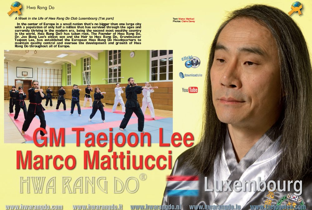 A Week in the Life of Hwa Rang Do Club Luxembourg P1