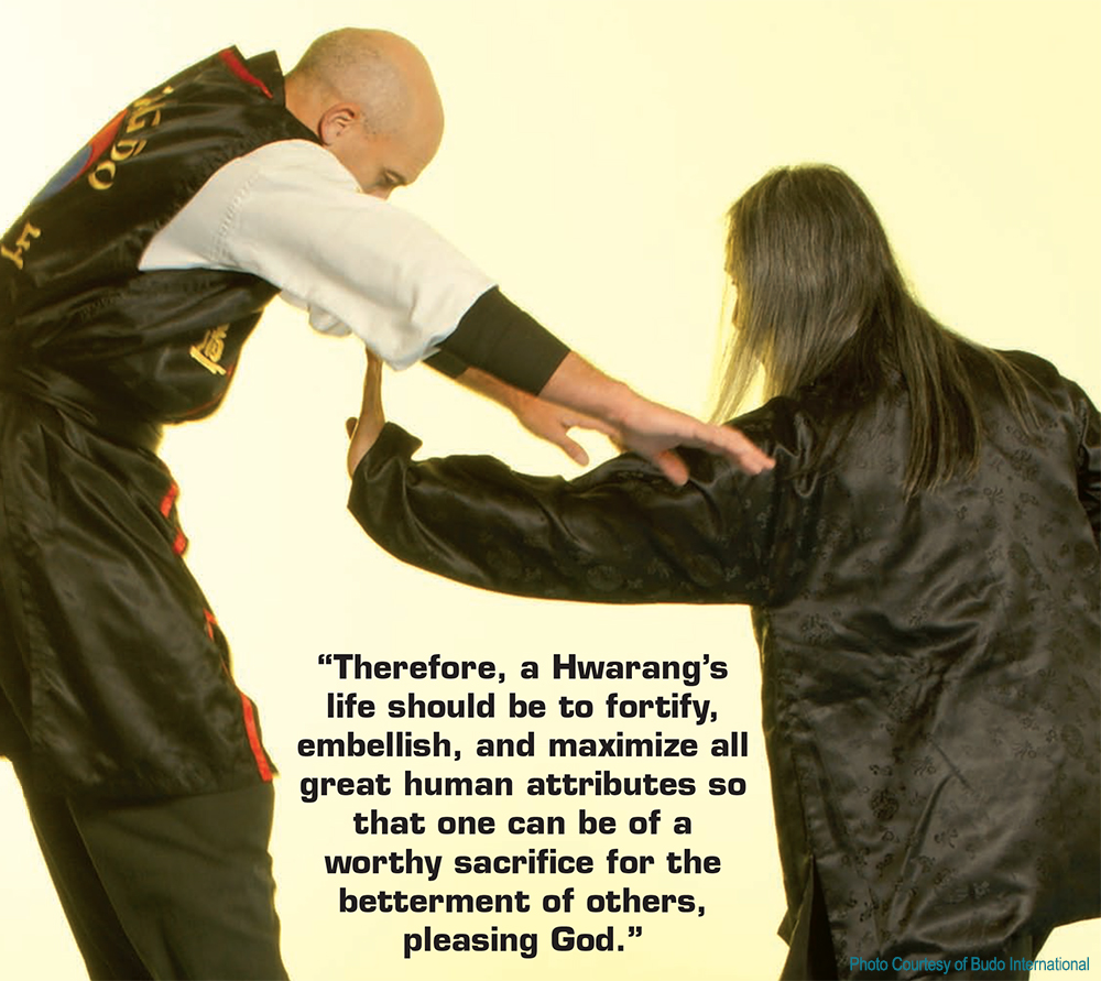 Hwarang's Serving Humanity