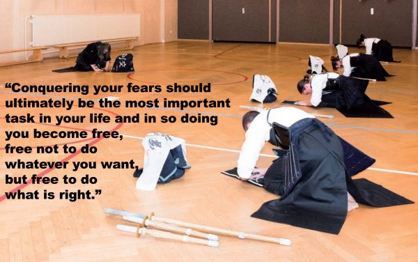 Conquer Fear To Do Right